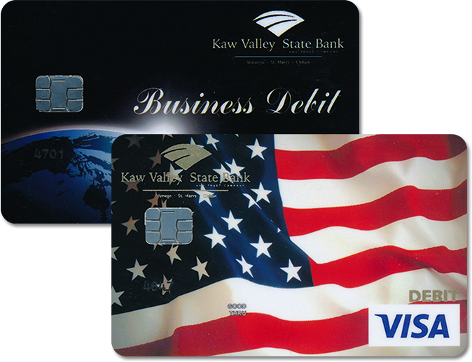 Kaw Valley State Bank Debit Cards