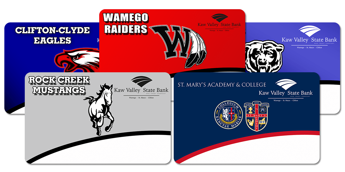 School Spirit Debit Cards