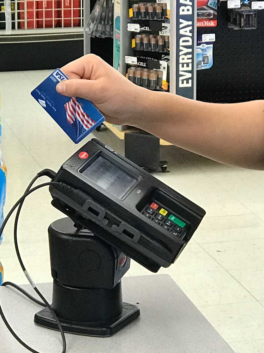 Kaw Valley Merchant Services Credit Card Swiper
