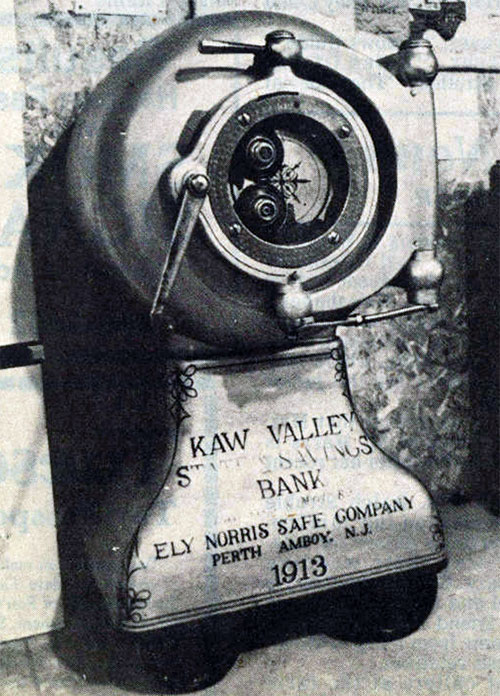 Kaw Valley State and Savings Bank chartered